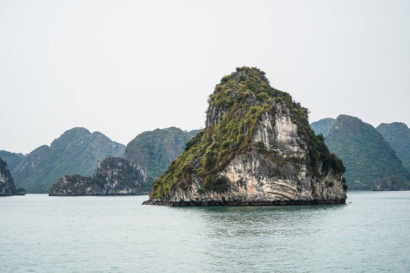 Islands in Halong Bay Vietnam