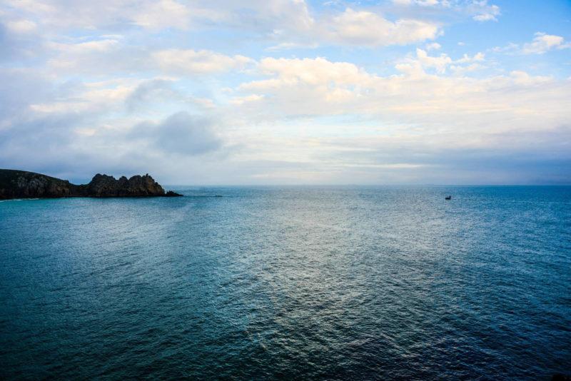cornwall sea and sky